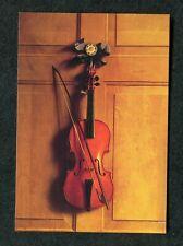 c2000 Art Card: Violin hanging on a Door by Jan Van der Vaart