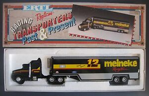 JIMMY SPENCER #12 MEINEKE TRANSPORTER 1993 ERTL 1:64 DIE CAST NEW IN BOX
