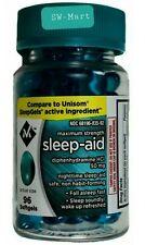 Sleep Aid Sleeping Pills Member's Mark Soft Gel 96Ct/bottle Diphenhydramine 50Mg