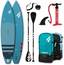 Fanatic Ray Air Touring inflatable SUP 11.6 Stand up Paddle Board mit Pure Padde