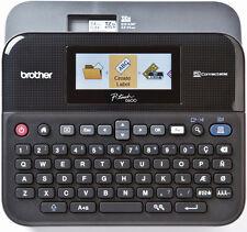Beschriftungsgerät Brother P-touch D600VP NEU mit Koffer, NT, PC Softw. 24mm USB