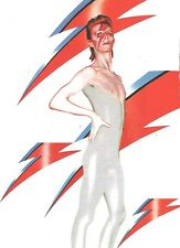 DAVID BOWIE 'flash' magazine PHOTO/ Poster/clipping 11x8 inches