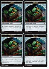 MTG Magic  Ixalan  - Trésor n°9 X4 - Token / Jeton  VF