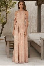 THE JETSET DIARIES MAXI SIERRA WRAP DRESS Blush Floral Boho Sz S