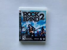 ROCK BAND 2 (GAME ONLY) Playstation 3 PS3 W/ Case and Manual