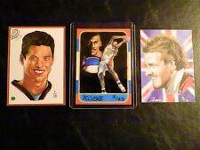 Sidney Crosby 2003 AOJ Lithocards 1/10 Rookie Card Sketch Art ACEO Penguins Sid