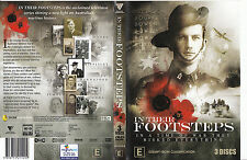 In Their Footsteps-TV Wartime History-10 Part Series-3 Disc-2011-Australia-DVD