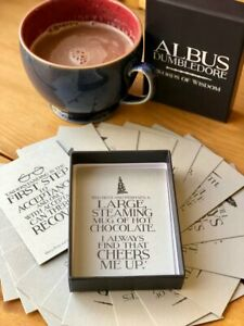 Albus Dumbledore - Words Of Wisdom Cards GIFT SET (Harry Potter) NEW Sealed