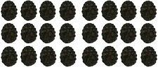 Rustic Brown Woodland Pine Cone 24 Piece Cast Iron Drawer Pull Handle