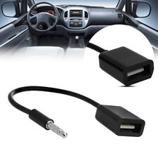 3.5mm Male AUX Audio Plug To USB 2.0 Female Converter Cable Cord FOR Car MP3 HOT