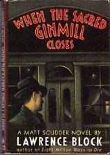 B001FPCD9U When The Sacred Ginmill Closes - Matt Scudder Novel