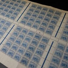 FEUILLE SHEET GUYANE FRANCE COLONIE N°50 x150 MILLÉSIME 6 1906 NEUF ** MNH RARE!