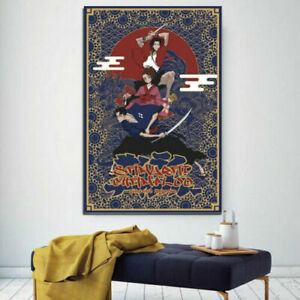 Samurai Champloo Anime Poster, Wall Art Decor, Samurai Champlo Print Poster
