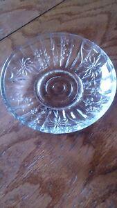Dessertteller Glasteller 3 Stück