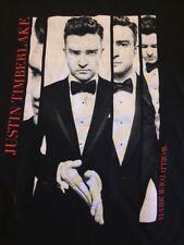 Justin Timberlake womens cut 2013/2014 tour tee size M.