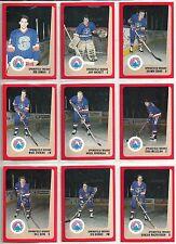 1988-89 Pro Cards 25-card AHL Springfield Indians Hockey Team Set  Jeff Hackett