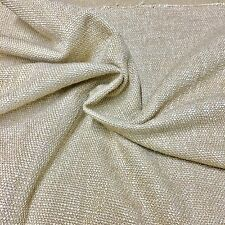 SUPER LUXURIOUS LIGHT GOLD CHENILLE UPHOLSTERY FABRIC 8.2 METRES
