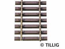 Tillig 85125 Elite 10x Holzschwellenflexgleis 890mm H0 Neu