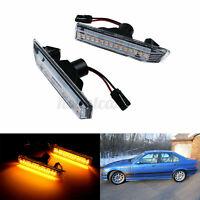 LED Side Marker Indicator Repeater Light For BMW M3 X5 E53 3 Series E36 LCI