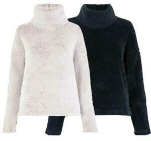 M&S Ladies/ womens Snuggle Top  Bed Jacket Luxury Super Soft Fleece size 6 to 22