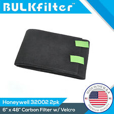 """2 Pack Premium Honeywell 32002 Replacement Carbon Filter 6"""" x 48"""" by BulkFilter"""