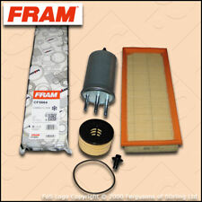 SERVICE KIT FORD MONDEO MK3 2.2 TDCI FRAM OIL AIR FUEL CABIN FILTERS (2004-2007)