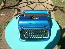 A very nice Remington portable typewriter & carry case.