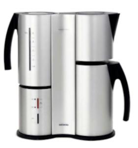 Siemens TC91100 Porsche Design 8 Tassen - Kaffeemaschine