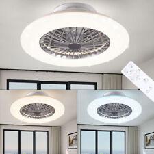 LEISER LED Decken Ventilator FERNBEDIENUNG Sternenhimmel Tageslicht DIMMER Lampe