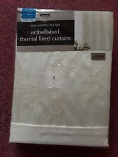 Dunelm thermal lined curtains.Brand New.