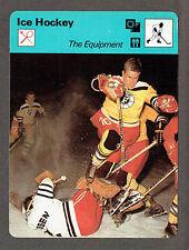 1979 Hockey 'Sportcaster',The Equipment, Goalie Stomping in European League