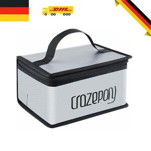 Lipo Akku Safe Bag Feuerfest Explosionssicher Schutz Tasche Batterieschutz