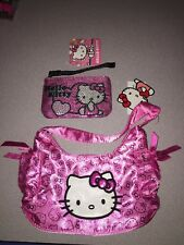 NWT HELLO KITTY PURSE & SEQUIN COIN CHANGE PURSE I SHIP EVERYDAY