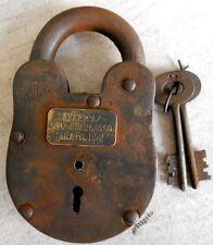 Alcatraz San Francisco Death Row Lock prison padlock