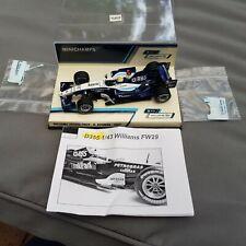 Minichamps 1:43 2007 Nico Rosberg Williams Toyota FW29 'ThinkPad' Livery