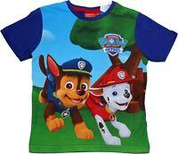Paw Patrol Boys Big Job Short Sleeve T Shirt
