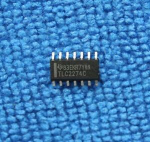 10pcs TLC2274C TLC2274CDR SOP-14 Integrated Circuit IC