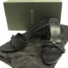 GUCCI sandals GG canvas Ladies Authentic Used T1316