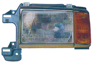Headlight Front Lamp for 87-91 Ford Pickup/Bronco Driver Left