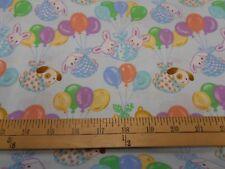 1 yard Balloon Babies Fabric