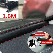 1.6m Car Interior Dashboard Windshield Trim Sealing Strip Soundproof Dustproof