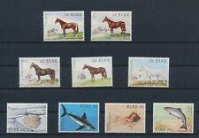 LO68872 Ireland fish sealife animals fauna flora horses fine lot MNH