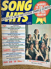 Song Hits Magazine 1/72 Partridge Family Special