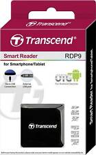 Transcend® Smart Reader RDP9 Micro USB for SD/SDHC/SDXC/microSDHC/microSDXC Card
