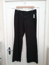 GAP Womens Black Tailored Bootcut Trousers Size 8 Leg 31 BNWT