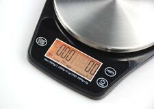 Mini V60 Coffee Drip Scale with Timer 0.1G to 3000G Kitchen