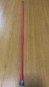 PINK UHF RADIO WHIP ONLY 600MM TO SUITS SOME UNIDEN ORICOM + MORE  ANTENNA BASES
