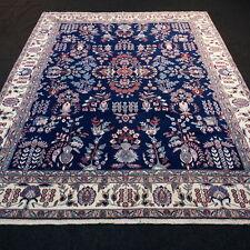 Orient Teppich China 292 x 232 cm Dunkelblau Handgeknüpft Carpet Rug Dark Blue