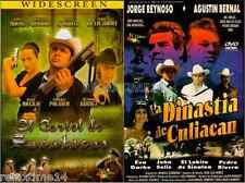 2 Dvd El Cartel De Sacatecaz - La Dinastia De Culiacan