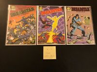 Dreadstar #1-3 Starlin Signature High Grade Lot Set Key Comic Book